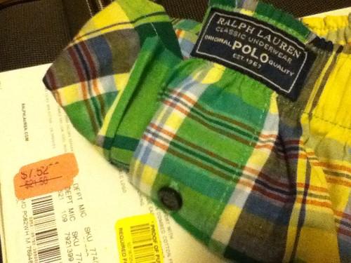 Polo underwear $7.52