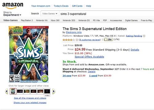 Amazon Supernatural Sale