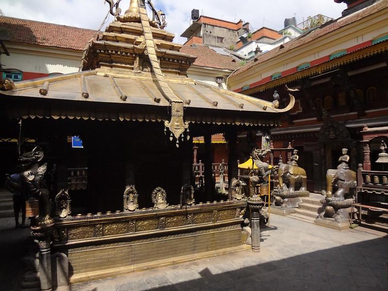 Golden Temple - Hiranayavarna Makavikar em Patan, Nepal
