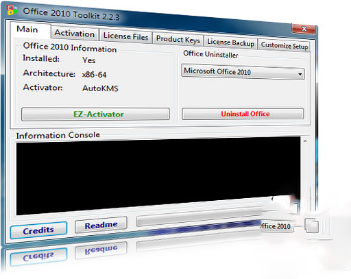 Activador de Office 2010 para Windows Office 2010 Toolkit v2.2.3