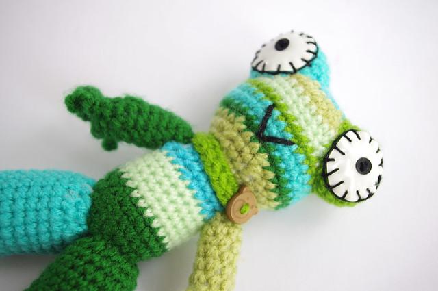 Frog Wool Gradient green
