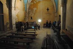 A l'interior de l'ermita