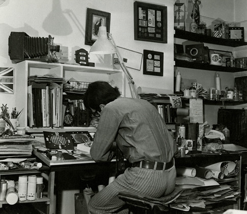 Paul Clark in his studio