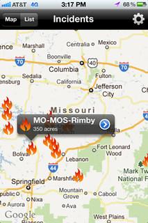 Wildfire Info App