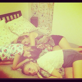 girl cuddle puddle @emmacooper @olivemylove