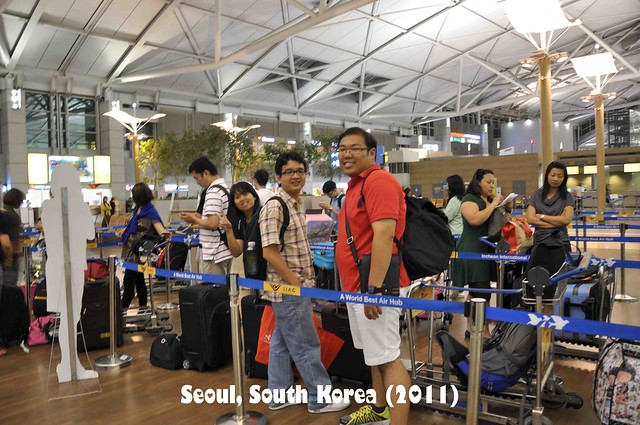 Last Day in South Korea 11 - Check In At Airport