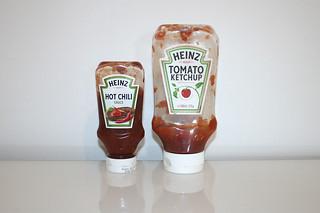 13 - Zutat Ketchup & Hot-Chili-Sauce