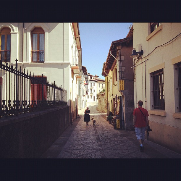 Walking around Llanes