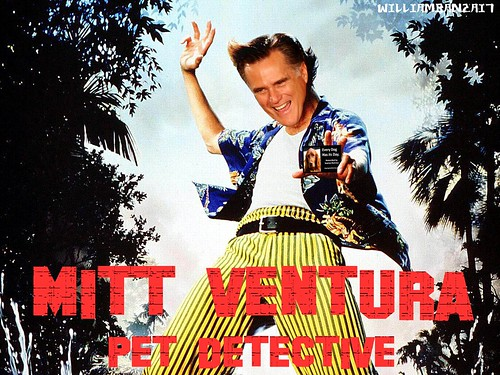MITT VENTURA PET DETECTIVE by Colonel Flick