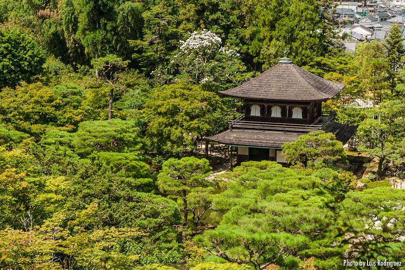 El Ginkaku-ji o Pabellón de Plata