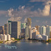 Brickell Avenue Skyline Aerial View by Michael Pancier Photography