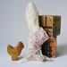 bunny brooch by hens teeth
