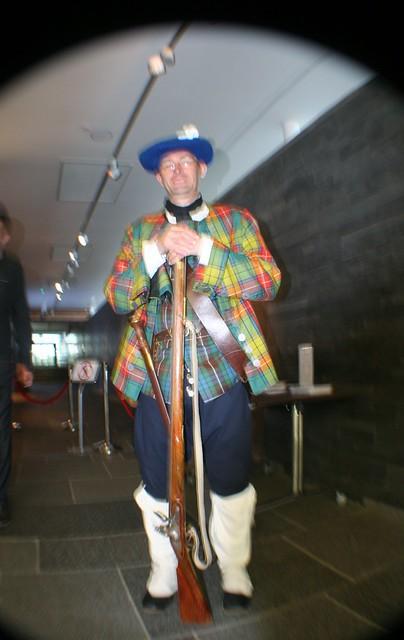Jacobite Soldier, Culloden Battlefield