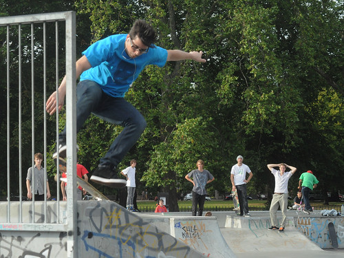Clapham Common Skatepark