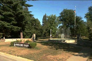 Gregory Park in Brainerd (via Google Earth)