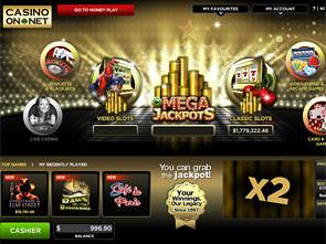 Casino on Net Lobby
