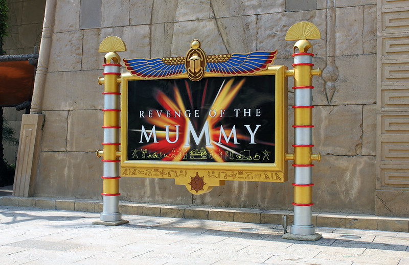 Universal Studios Singapore - Ancient Egypt
