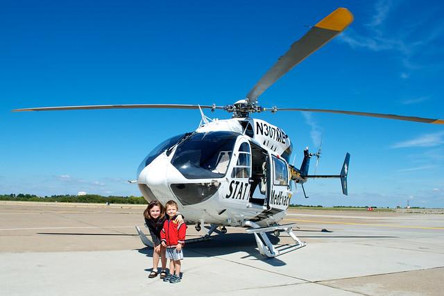 STAT Medevac Helicopter