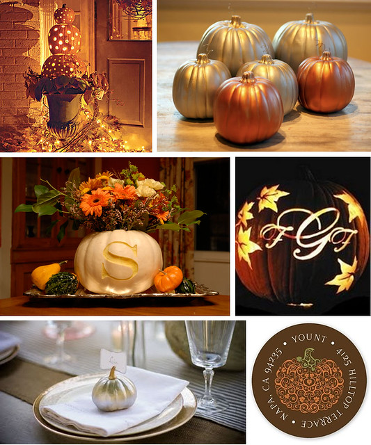 Pumpkins as Wedding Decor