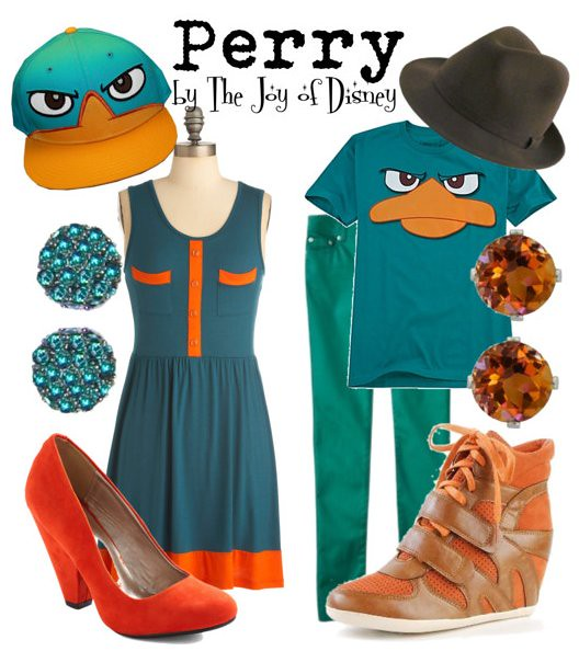 Perry Platypus (Phineas and Ferb)