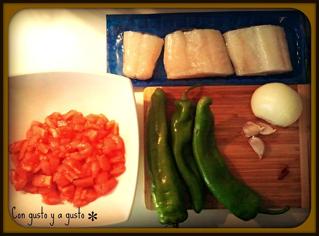 Ingredientes bacalao
