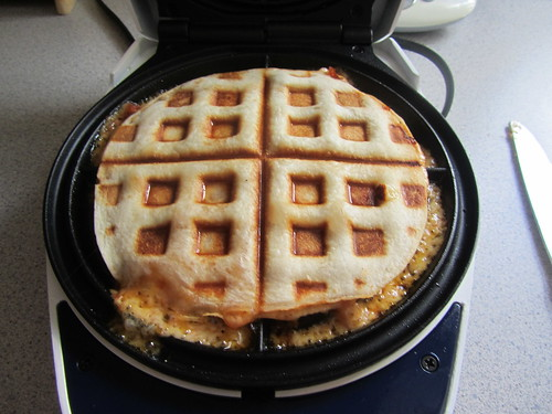 Waffled Quesadilla