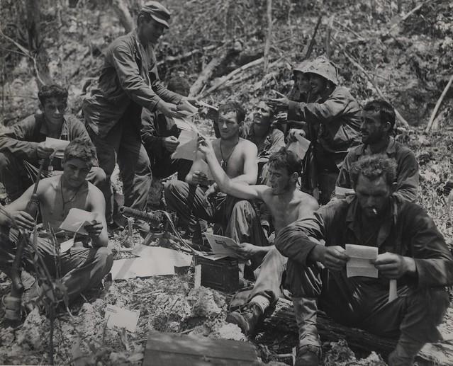 Mail call peleliu 1944 flickr photo sharing