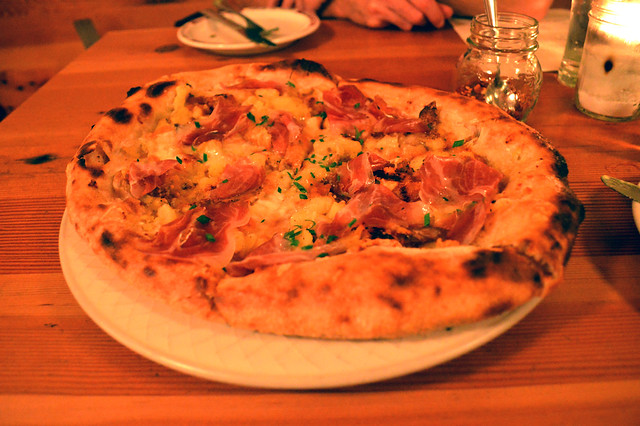 Roasted Potatoe, Telegio, Carmelized Onion and Coppa