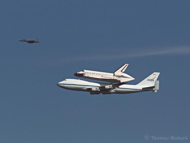 Shuttle Endeavour's last Trip, San Francisco