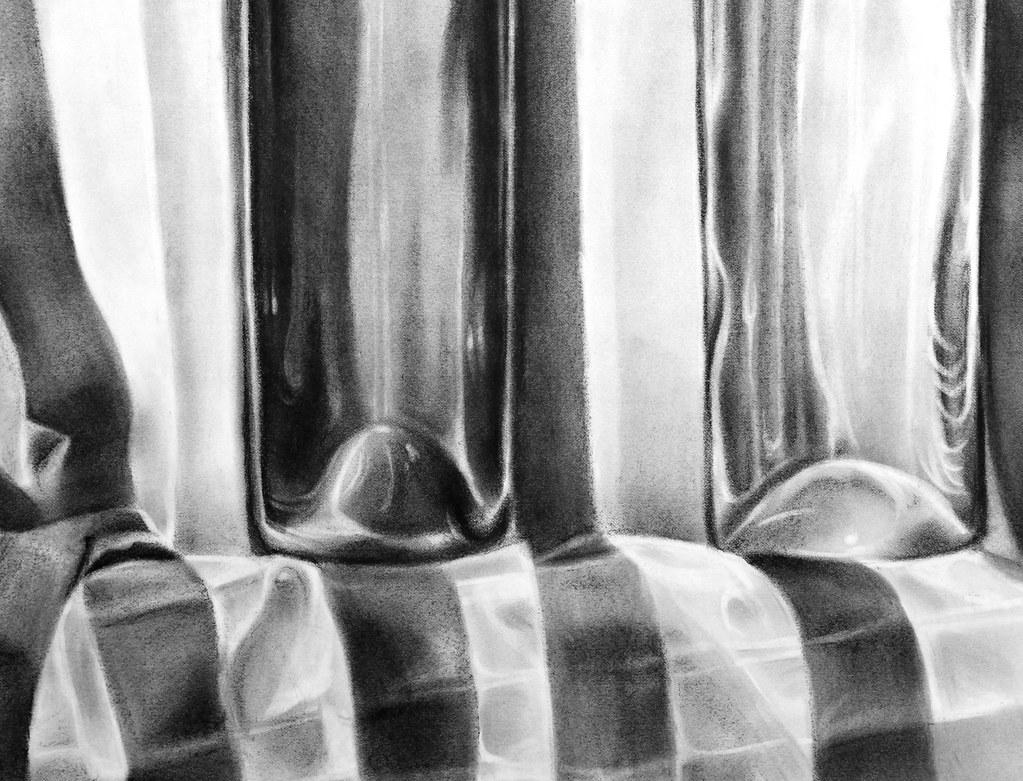 Charcoal Bottles Detail