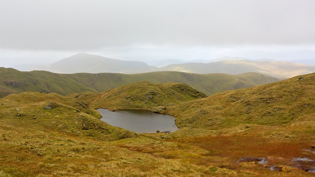 Pool on the Tarmachan Ridge