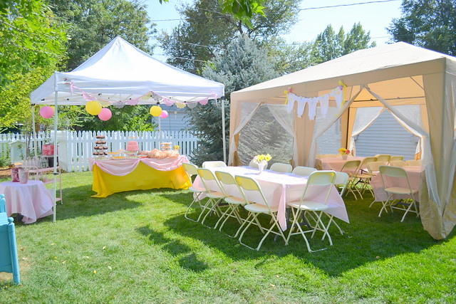 Backyard Baby Shower Ideas Backyard Design Ideas