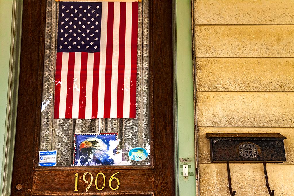 Flag-in-door--Allentown