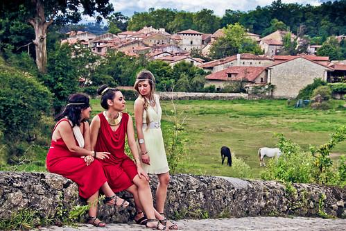 Sesión romana en Santillana