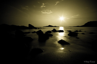 Seascape at Gokarna