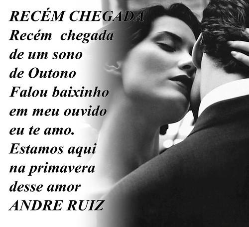 RECEM CHEGADA by amigos do poeta