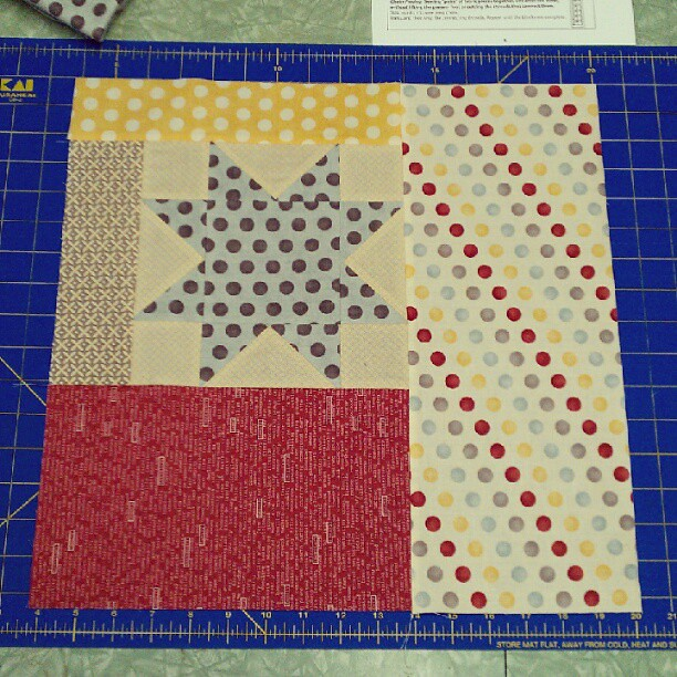 Yay two blocks done for tonight!