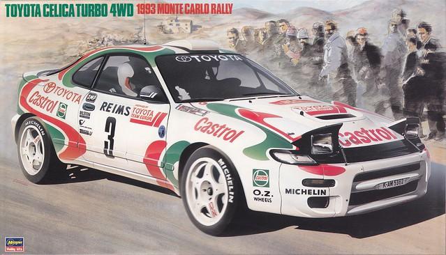 ST185 Toyota Celica GT-Four - 1993 Monte-Carlo