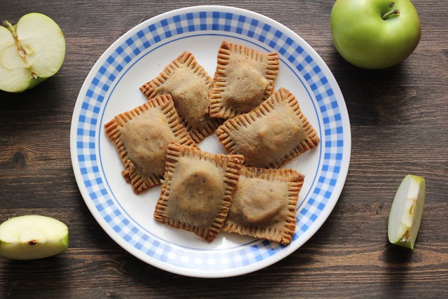 brown butter bourbon apple honey handpies