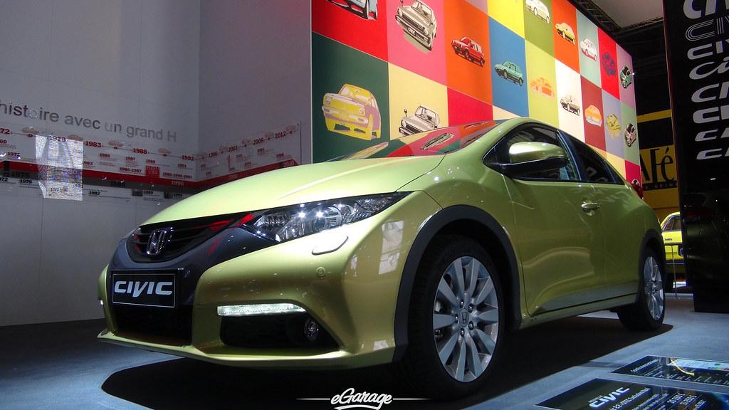 8034739857 56581c1639 b eGarage Paris Motor Show New Civic