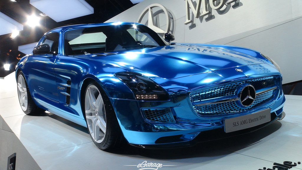 8034740899 c0339b8597 b eGarage Paris Motor Show SLS Electric
