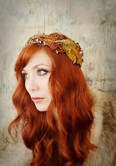 Woodland crown-boho headpiece
