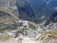 Blick von der Lagazuoi Bergstation
