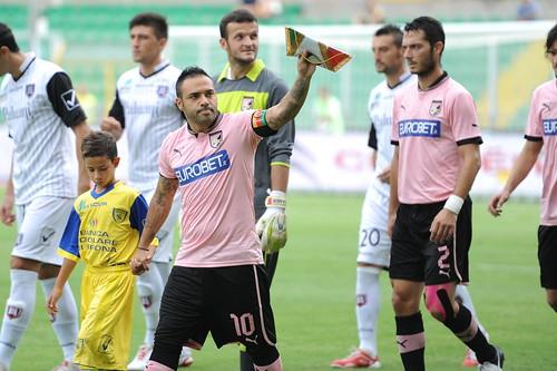 Calcio, Palermo-Chievo 4-1: tripletta di Miccoli$