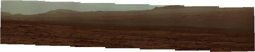 """CURIOSITY sol 51 Mastcam R subframe - """"atmosphere"""""""