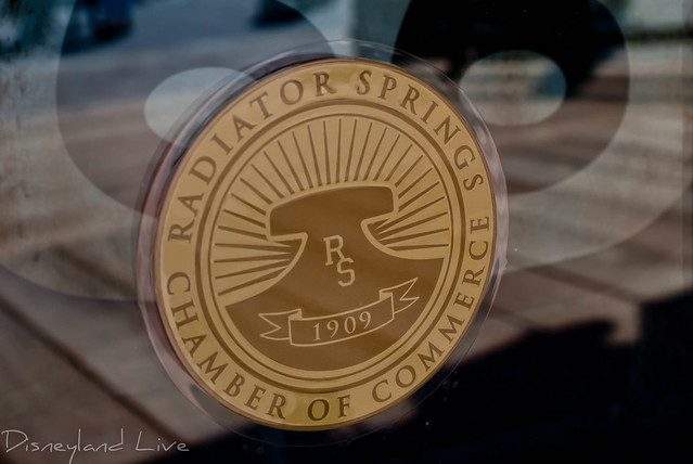 Radiator Springs Chamber of Commerce Seal