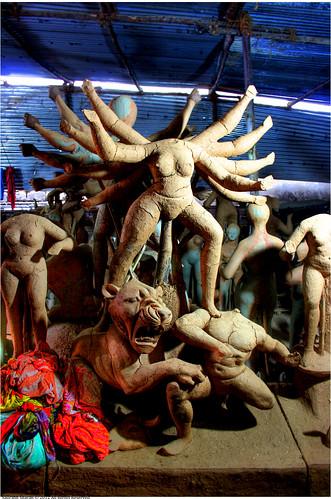 Headless Durga