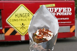 Border Run Stuffed Potato at Hunger Construction