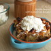 Apple Bread Pudding with Caramel Bourbon Sauce