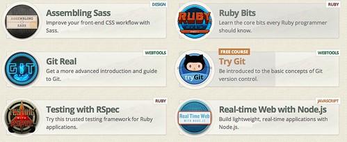 Courses - Code School